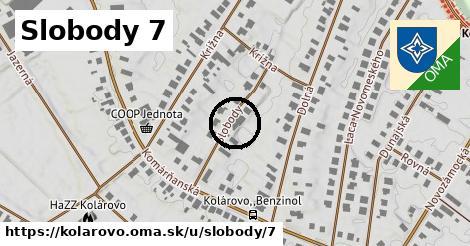 Slobody 7, Kolárovo