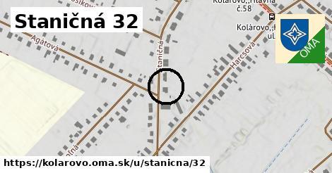 Staničná 32, Kolárovo