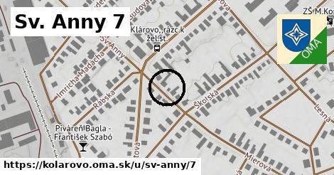 Sv. Anny 7, Kolárovo