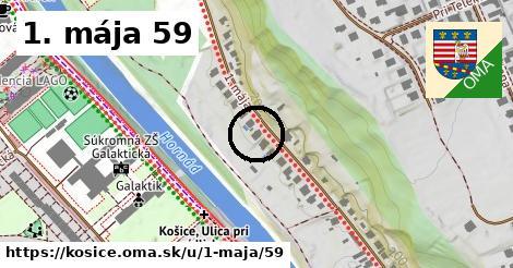 1. mája 59, Košice