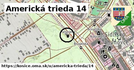 Americká trieda 14, Košice