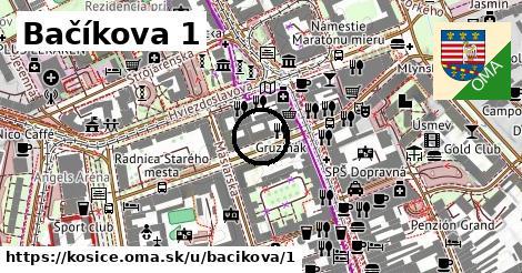 Bačíkova 1, Košice