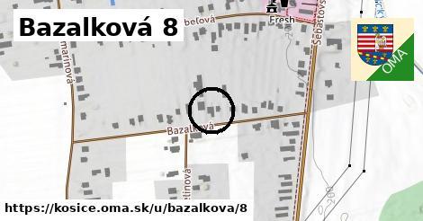 Bazalková 8, Košice