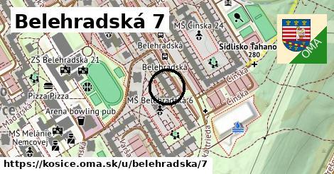 Belehradská 7, Košice