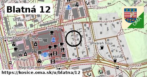 Blatná 12, Košice