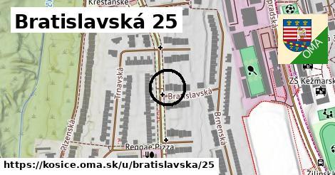 Bratislavská 25, Košice