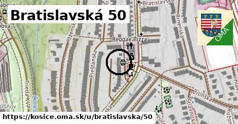 Bratislavská 50, Košice