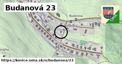 Budanová 23, Košice