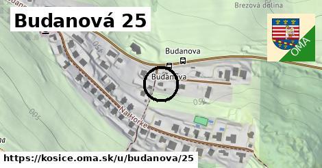 Budanová 25, Košice