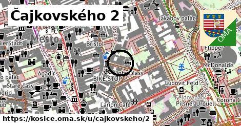 Čajkovského 2, Košice