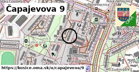 Čapajevova 9, Košice