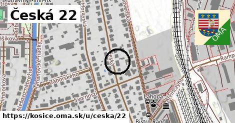 Česká 22, Košice