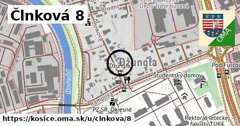 Člnková 8, Košice