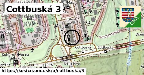 Cottbuská 3, Košice