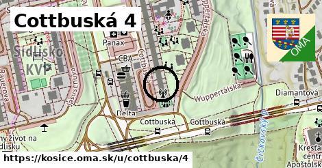 Cottbuská 4, Košice