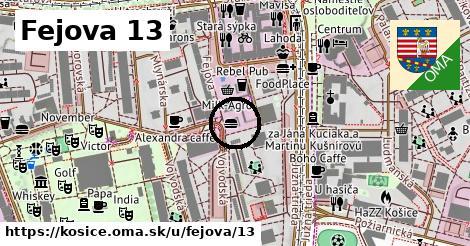 Fejova 13, Košice