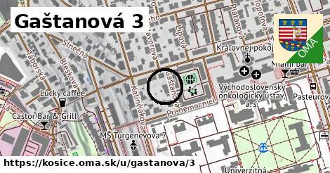 Gaštanová 3, Košice