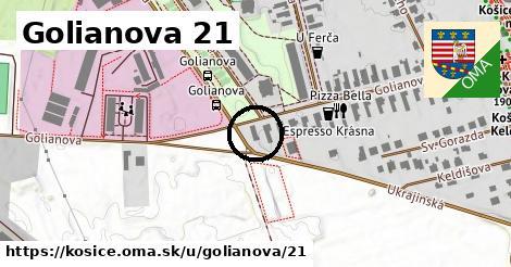 Golianova 21, Košice