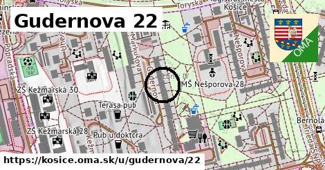 Gudernova 22, Košice