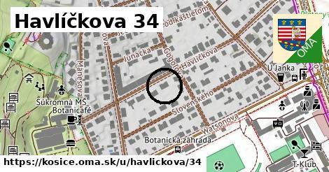 Havlíčkova 34, Košice