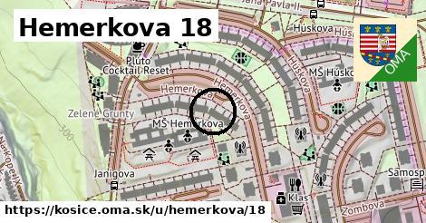 Hemerkova 18, Košice