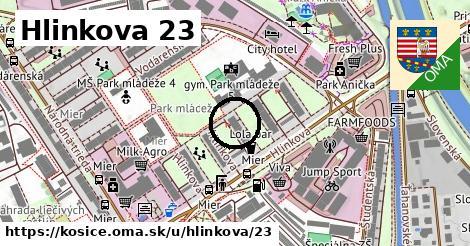 Hlinkova 23, Košice