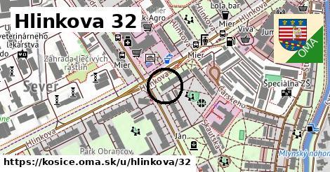 Hlinkova 32, Košice