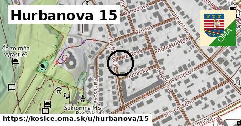 Hurbanova 15, Košice