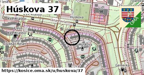 Húskova 37, Košice