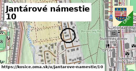 Jantárové námestie 10, Košice
