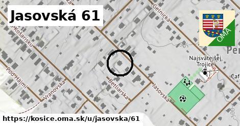 Jasovská 61, Košice