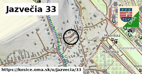 Jazvečia 33, Košice