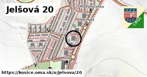 Jelšová 20, Košice