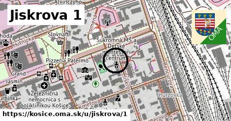 Jiskrova 1, Košice