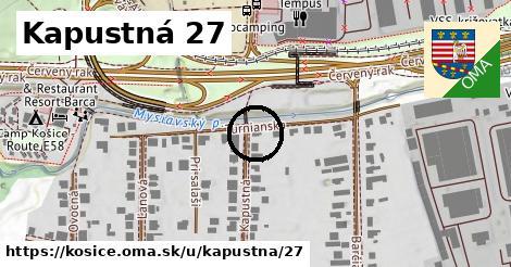 Kapustná 27, Košice