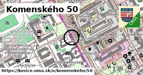 Komenského 50, Košice
