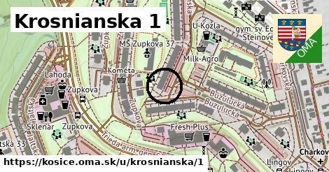 Krosnianska 1, Košice