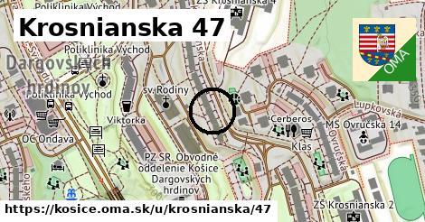 Krosnianska 47, Košice