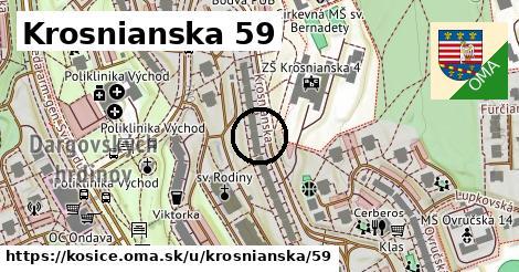 Krosnianska 59, Košice