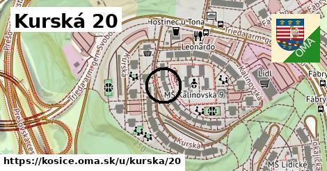 Kurská 20, Košice
