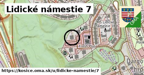 Lidické námestie 7, Košice