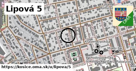 Lipová 5, Košice