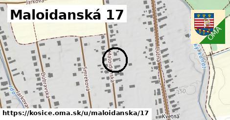 Maloidanská 17, Košice