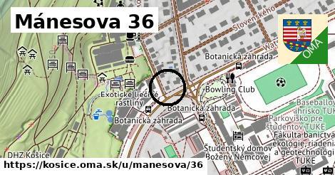 Mánesova 36, Košice