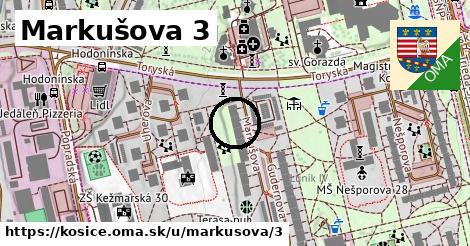 Markušova 3, Košice