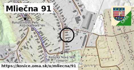 Mliečna 91, Košice