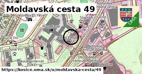 Moldavská cesta 49, Košice