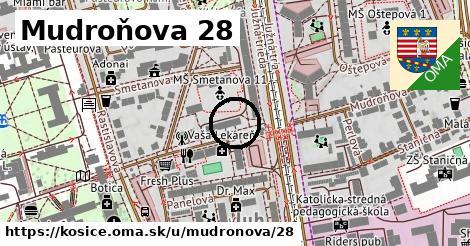 Mudroňova 28, Košice