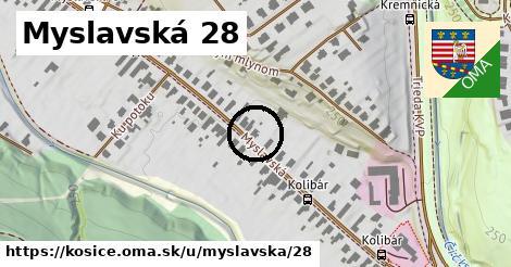 Myslavská 28, Košice