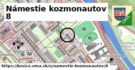 Námestie kozmonautov 8, Košice
